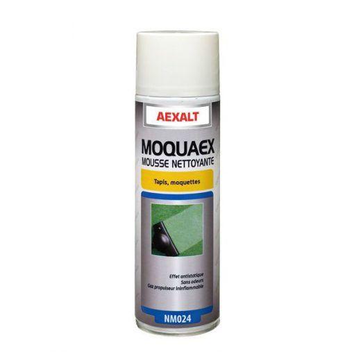 Mousse nettoyante tapis et moquette aérosol 650ml MOQUAEX Aexalt