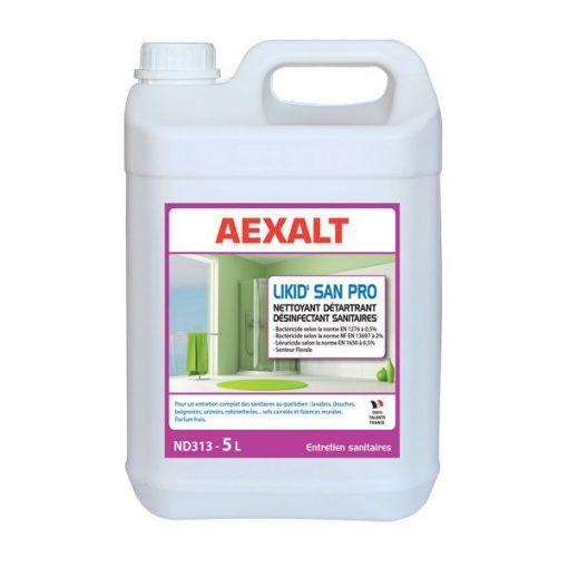 Nettoyant détartrant sanitaire 5L LIKID'SAN PRO Aexalt