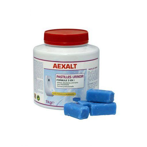 Boite de 35 pastilles urinoir formule 3 en 1 Aexalt