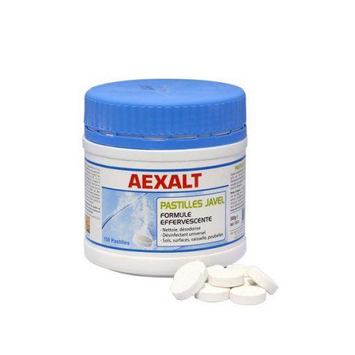 150 Pastilles javel formule effervescente Aexalt