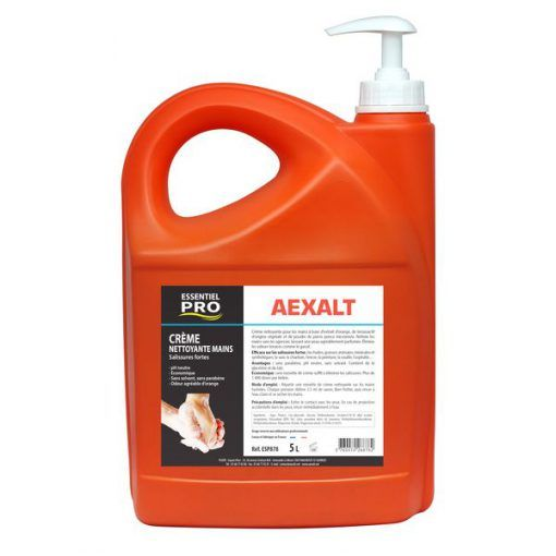 Crème nettoyante mains 5L spécial salissures fortes Aexalt