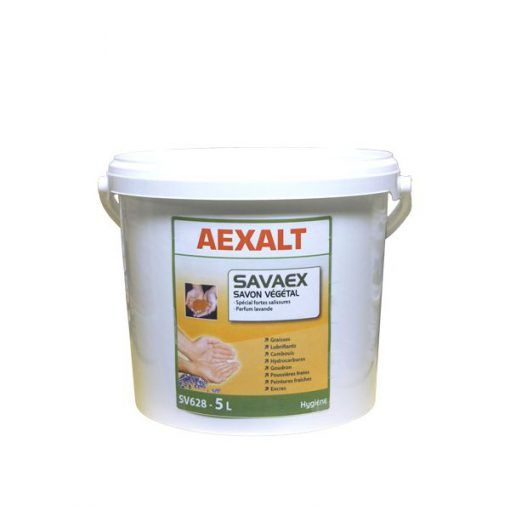 Savon végétal en poudre micronisée SAVAEX Aexalt