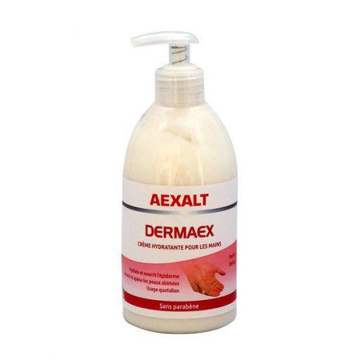 Crème pour les mains 500ml DERMAEX HYDRATANTE Aexalt
