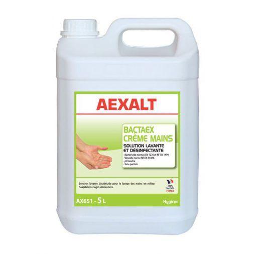 Solution lavante et désinfectante 5L BACTAEX CRÈME MAINS Aexalt