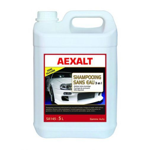 Shampoing sans eau 3 en 1 carrosseries Aexalt