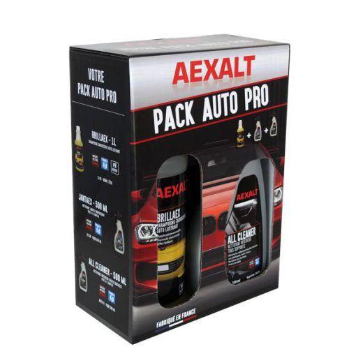 Pack auto pro ALL CLEANER + JANTAEX + BRILLAEX Aexalt