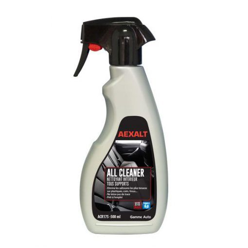 Nettoyant intérieur voitures tous supports 500ml ALL CLEANER Aexalt
