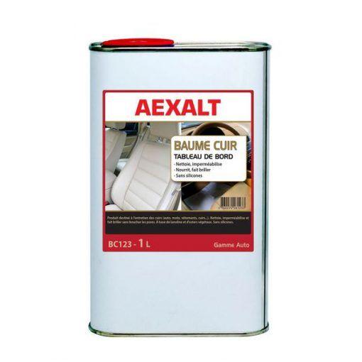 Baume cuir tableau de bord et intérieur véhicule 1L Aexalt