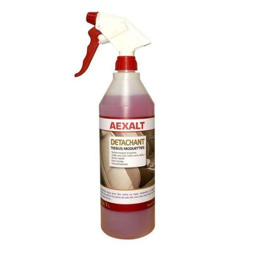 Détachant actif tissus moquettes Prêt à l'emploi Aexalt