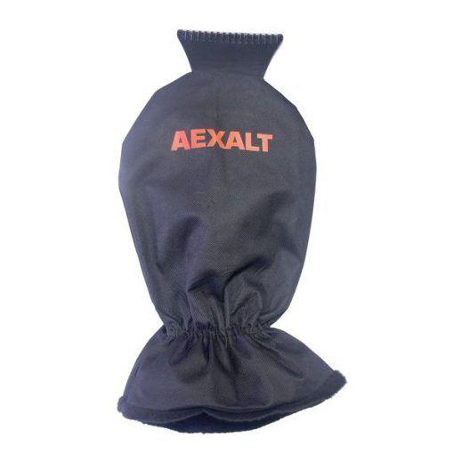 Grattoir pare-brise avec gant tous véhicules Aexalt