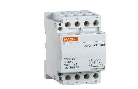 Contacteur 4P-63A-230V AC-4NO Maxge