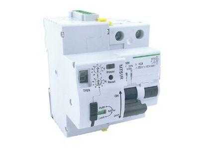 Interrupteur différentiel réarmable 2P 63A 30mA 10kA Maxge