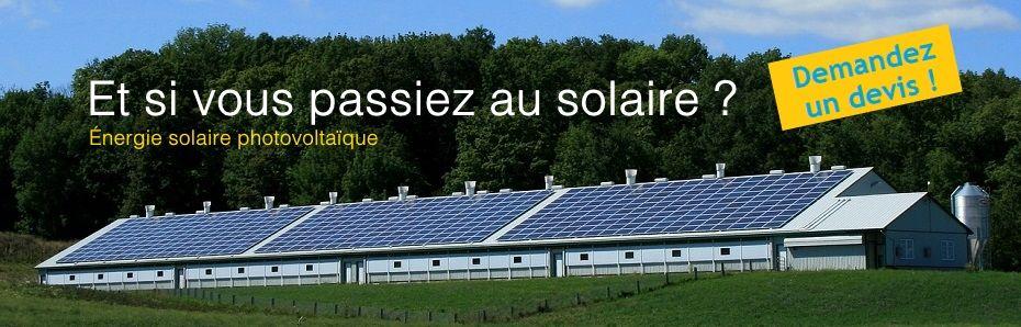 panneau solaire led devis