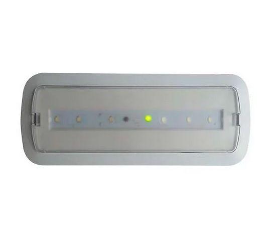 Bloc de Secours LED 3W + Kit Plafond Éclairage Permanent