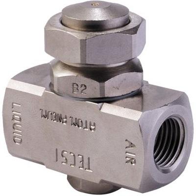 Atomiseur pneumatique laiton E1-B1-S11 - TEC64002