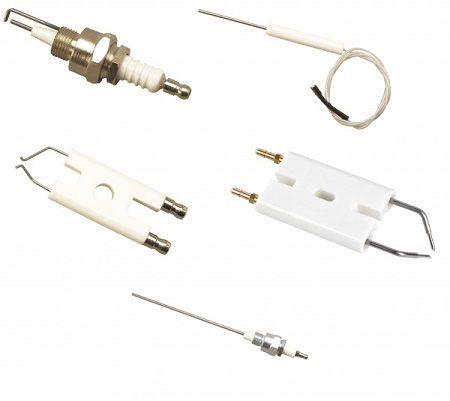 Électrode d\'allumage et sonde ionisation avec cable pour C3G