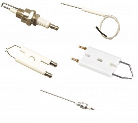 Bougie d\'allumage ZE14-12 pour brûleur BIC/BIO/ZIO