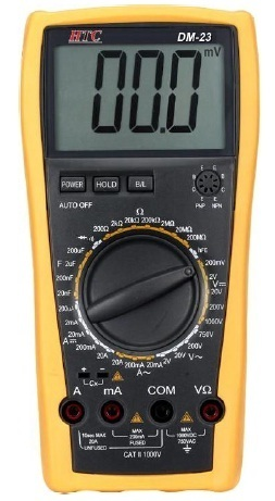 Multimètre digital DM-23 - HTC Instruments