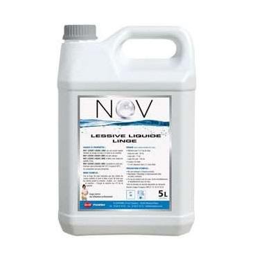 Lessive liquide 5L vendu par carton de 2 bidons NOV\'LESSIVE