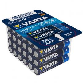 Pack refermable 24 piles AAA - 4903301124 - Varta