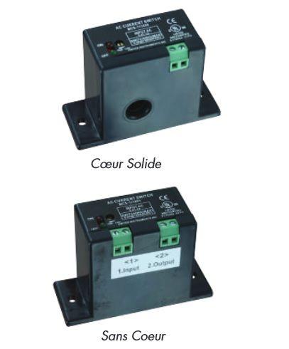 Détecteur enregistreur de courant miniature - Série MCS