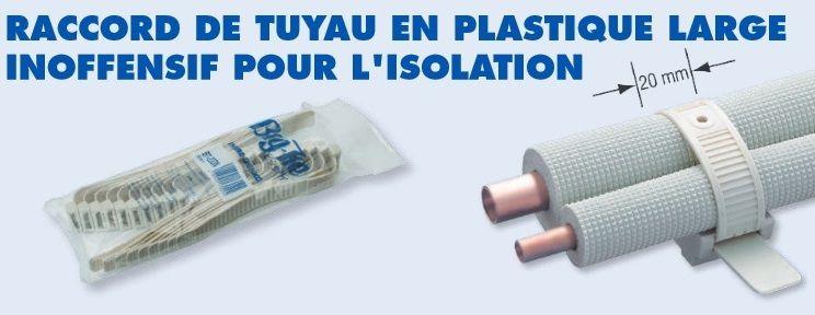 Attaches PVC de tuyaux série BT - INABA DENKO