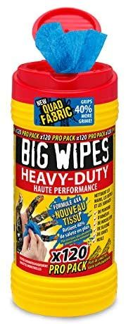 Lingettes anti-bactérienne haute performance BIG WIPES