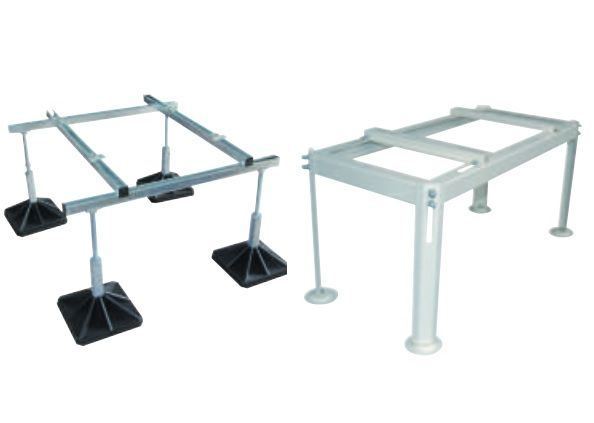 Support de sol en métal, heavy foot disponible - Climaconcept