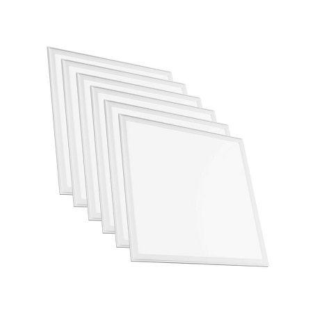 Panneaux LED CLAREO 600x600 40W Eco Pack 6 Dalles