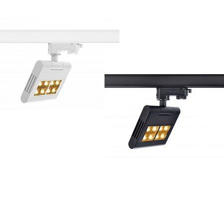 SpotRail SLV LENITO LED 23W Noir ou Blanc