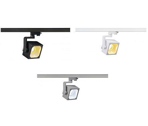 SpotRail SLV EURO CUBE 28,5W LED Design