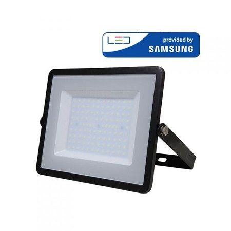 Projecteur LED V-TAC PRO Noir 10W à 300W Samsung Chip VT-100