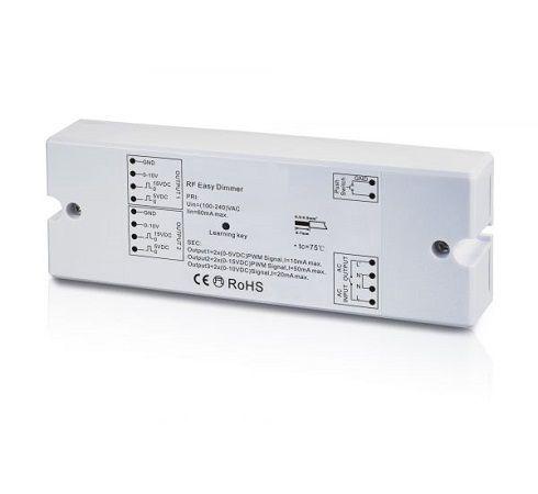 Récepteur RF CLAREO Access BP 1-10V + relais sur 230V