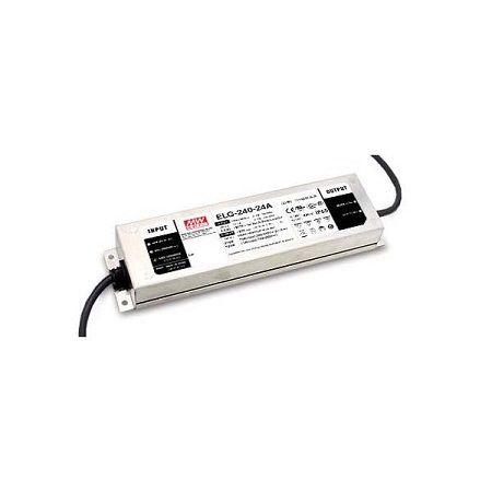 Driver MeanWell 24VDC 240W IP67 DALI - ELG-240-24DA