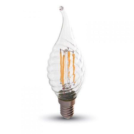 Lampe LED V-TAC filament flamme 4W E14 VT-1995