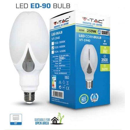 Ampoule LED V-TAC 40W E27 VT-1940