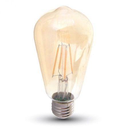 Ampoule LED V-TAC filament 4W E27 variable VT-1964D