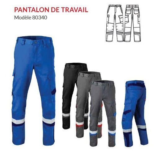 Pantalon de travail modèle 80340 - HAVEP® 5SAFETY IMAGE+