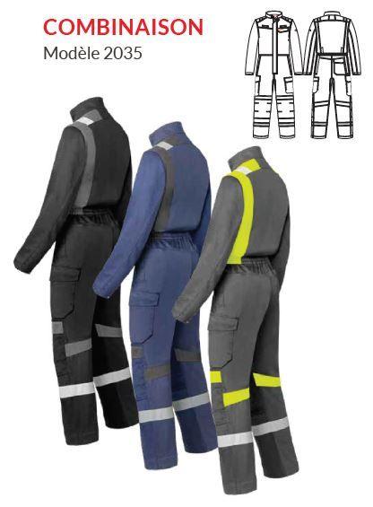 Combinaison de travail modèle 20335 - HAVEP® FORCE+