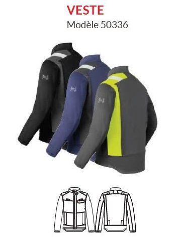 Veste de travail modèle 50336 - HAVEP® FORCE+