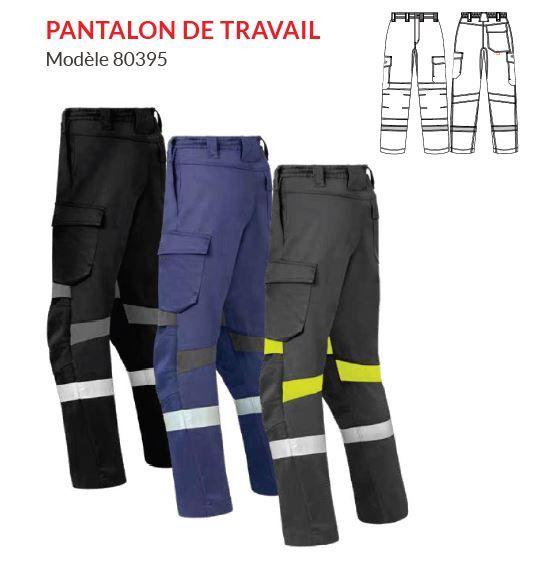 Pantalon de travail modèle 80395 - HAVEP® FORCE+