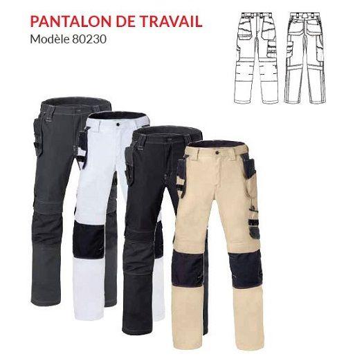 Pantalon de travail modèle 80230 HAVEP® Attitude