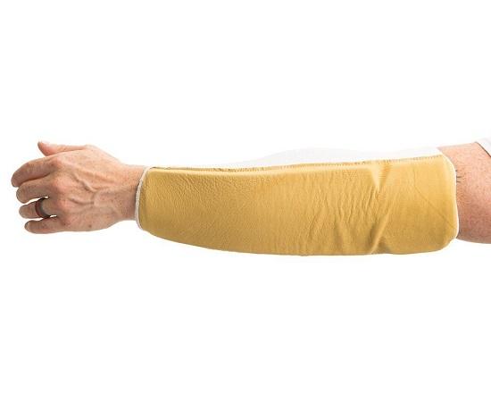 Protège-coude / avant-bras en cuir - 811-20 - Impacto