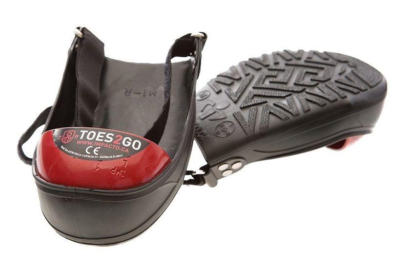 Couvre-chaussure à embout protecteur en acier - TOES2GO - Impacto