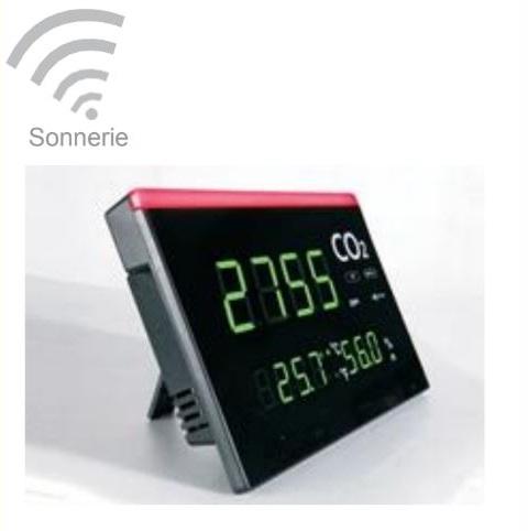 Afficheur alarme CO2 - DTK30002 - Dtek Gaz