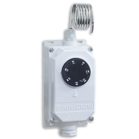 Thermostat ambiance capillaire -20/+40°C IP65 C10B2Y - Fantini