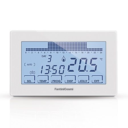 Thermostat tactile programmable CH180 - Fantini Cosmi