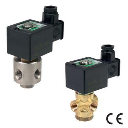 Electrovanne à commande directe 1/4 230V en laiton - SCB320A178