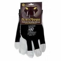 6 PAIRES DE GANTS CUIR / COTON TAILLE XL - BLM25004 - BLACK MAMBA