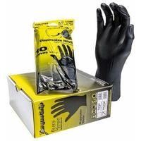 Boîte de 100 gants jetables torque taille L à XL - Black Mamba